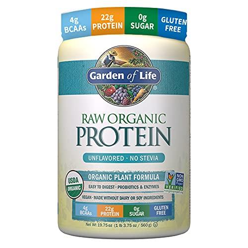 Garden of Life Raw Organic Protein Unflavored Powder