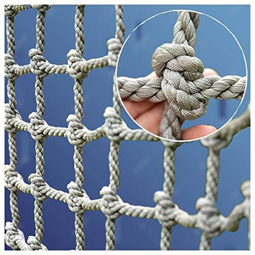 XXN Kletternetz für Kinder,Geländertreppe Dekoration Erwachsenes Haustier Nylon Seil Zaun Outdoor Kinderschaukel Baumleiter für Feste Ladung LKW-Hochleistungsplattformnetze Stark und Abriebfest