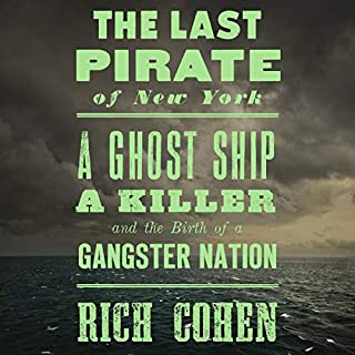 The Last Pirate of New York audiobook cover art