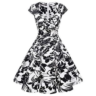 Bbonlinedress Women Short 1950s Retro Vintage C...