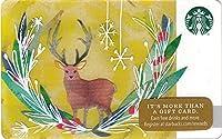 スターバックス スタバ カード 2016 ホリデー42 ⑤『クリスマスの雄ジカ』北米版