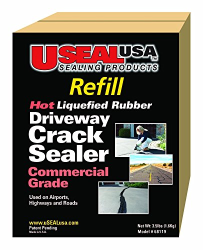 Useal USA Hot Liquefied Rubber,driveway Crack Sealer...