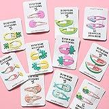 cute Kinder Haarschmuck Kopfbedeckung Teile/Satz Flamingo Ananas Obst Haarnadeln Cartoon Meerjungfrau Pferd Regenbogen Haarspange für...