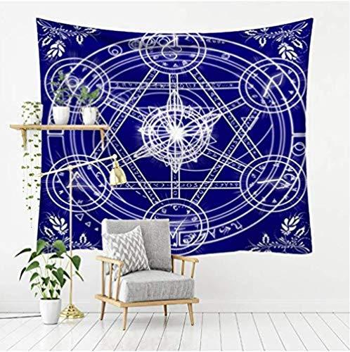 HUIQ misteriosa constelación astrología Tapiz Estrella Universidad Colgante de Pared Tela de Fondo decoración del hogar 200 * 150 Mm