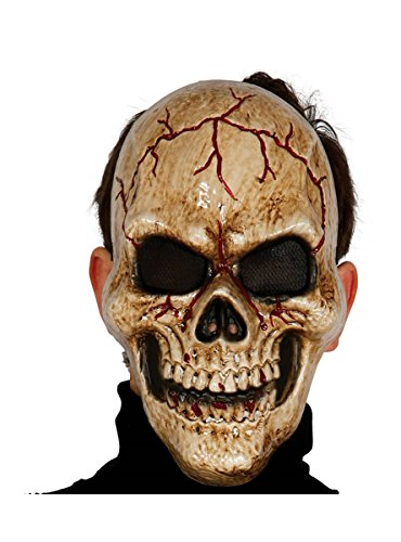 Maschera teschio oscuro in pvc