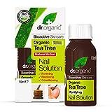 Dr.Organic Tea Tree Soluzione Unghie 10 ml...