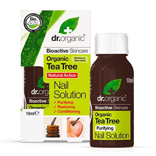 Dr.Organic Tea Tree Soluzione Unghie 10 ml