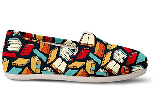 Gnarly Tees Book Lovers Casual Shoes
