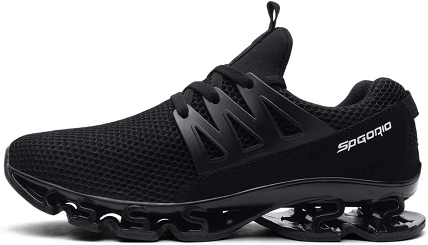 WOERW Men's shoes Casual shoes Sports Running shoes Couple Breathable Jogging