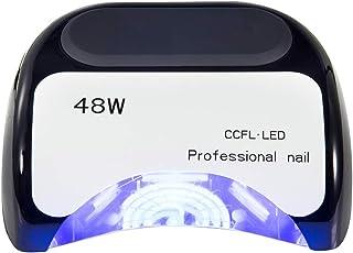 Secadores de UñAs Lámpara de fototerapia de inducción inteligente de alta potencia Sincronización Secador de uñas sin dolor Profesional Cubierta de diapositivas Máquina de manicura 110 / 220v