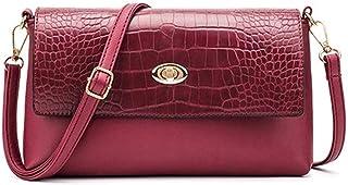 Borsa a tracolla da donna in pelle con borsa a tracolla da sera in borsa a tracolla da donna