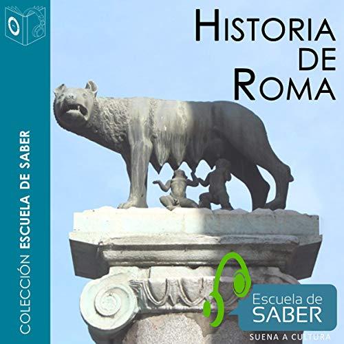 Historia de Roma [History of Rome] audiobook cover art