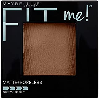 Maybelline New York Fit Me Matte + Poreless Powder Makeup, Mocha, 0.29 Ounce, 1 Count