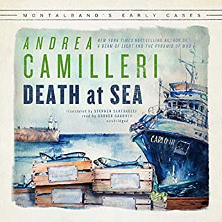 Death at Sea     The Inspector Montalbano Mysteries              Written by:                                                                                                                                 Andrea Camilleri,                                                                                        Stephen Sartarelli - contributor                               Narrated by:                                                                                                                                 Grover Gardner                      Length: 6 hrs and 52 mins     Not rated yet     Overall 0.0