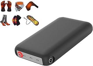 DUOCACL, DUOCACL Power Banks Cargador portátil Calcetín Calefactor eléctrico Batería Calentador de pies de Seguridad Batería