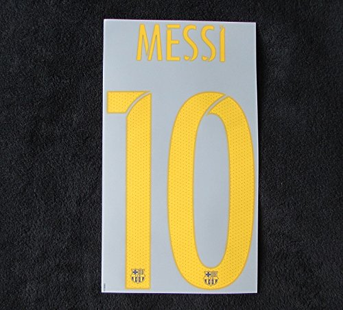 Nike Original 2015–2016Barcelone FC Leo Messi Flock pour Home Maillot Neuf