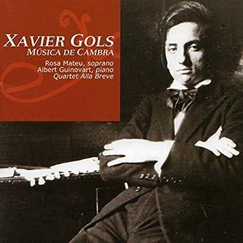 Xavier Gols: Música de Cambra