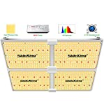 SideKing Led Grow Light SK4000/450W Full Spectrum for Indoor Plants, 1264pcs High Efficiency Samsung Diodes & Moso Driver with Dimmable Knob Suitable for 5x5 Grow Tent