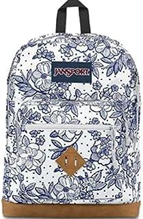 حقيبة ظهر جانسبورت سيتي فيو بتصميم زهور عتيقة