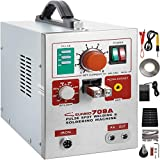 Mophorn 709A Pulse Spot Welder 0.3mm Battery Welding Machine 110V Battery Spot Welder and Soldering Station Portable Pulse Welding Machine for Battery Pack 18650 14500 Lithium Batteries