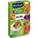 Vitakraft Kräcker Trio-Mix, Knabberstangen für Hamster mit Honig/Nuss/Frucht (1 x 3 Stangen)