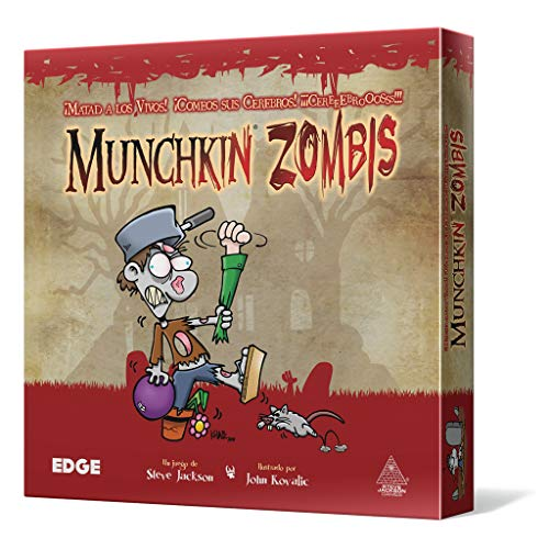 Edge Entertainment Munchkin Zombies - Juego de Mesa EDGMZ01