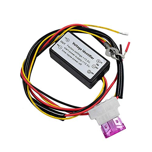 YUNPICAR DRL Controller 12-18V Car LED Daytime Running Light Controller Relay Harness Dimmer Auto On/Off Switch Fog Light Controller