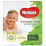 Huggies Natural Care Extra Care - Toallitas para bebé - 12x56