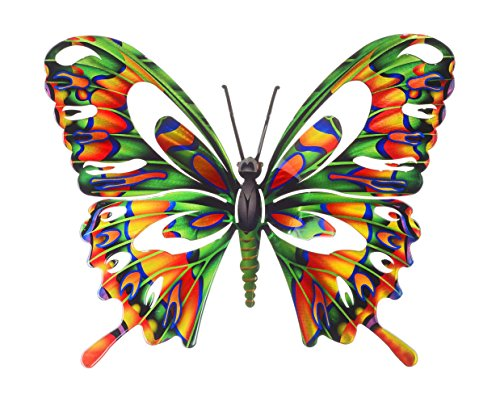 Next Innovations WA3DLBFLYMULTI Butterfly Refraxions 3D Wall Art, Large, Multi