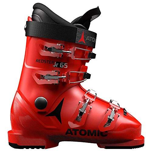 Atomic Jungen Unisex-Kinder ABO ATO Race Inl Schneestiefel, Rot (Red/Black 000), 30/31 EU
