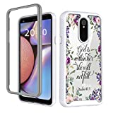 Case Compatible with Series Case for LG Stylo 5 and LG Stylo 5 Plus/LG Stylo 5V / LG Stylo 5X Case Dual Layer Heavy Duty Shockproof Series Hard PC/TPU Bumper Protective Case for LG Stylo 5 Phone