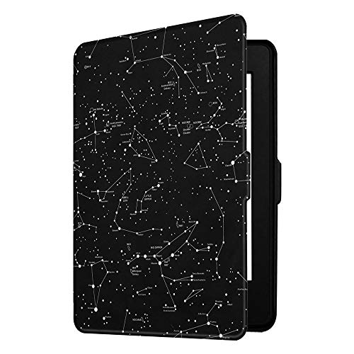 Fintie Slimshell Case for Kindle Paperwhite - Fits All Paperwhite Generations Prior to 2018 (Not Fit All-New Paperwhite 10th Gen), Constellation