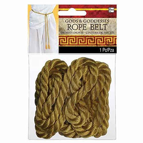 Gods & Goddesses Gold Rope Belt | 6 Ct.