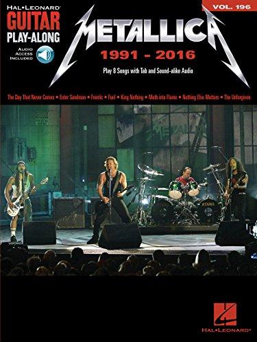 Metallica: 1991-2016: Guitar Play-Along Volume 196 (Hal Leonard ...