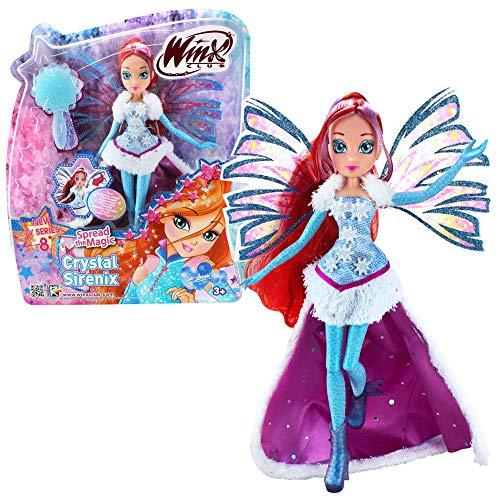 Winx Club Bloom | Crystal Sirenix Puppe Bewegliche Flügel | Staffel 8