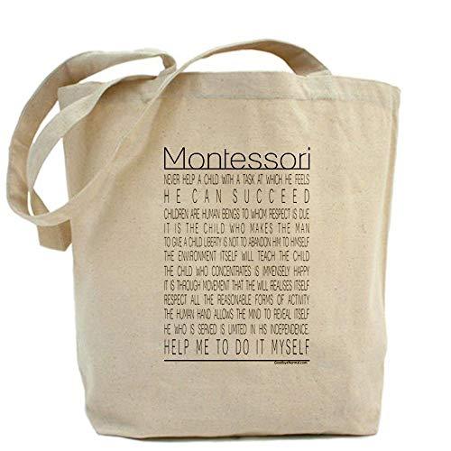 Penelope Maria Montessori Tragetasche mit Zitaten in Standardgröße, mehrfarbig hh 521116