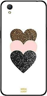 Oppo A37 Case Cover Sparkle Hearts, Moreau Laurent Premium Phone Covers & Cases Design