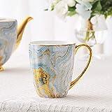 HRDZ Bone China Mug Coppia Creativa Tazza d'Acqua Tazza da caffè in Ceramica Regalo di Compleanno per Matrimoni