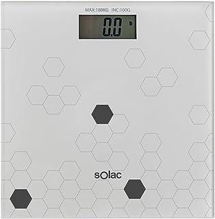 Solac PD7623 Precise - Bascula de baño