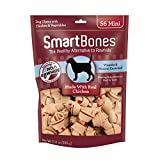 SmartBones Mini Bones with Real Chicken 56 Count, Rawhide-Free Chews for Dogs, SBC-00458