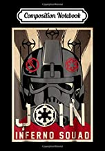 Composition Notebook: Star Wars Battlefront II Join Inferno Squad Poster, Journal 6 x 9, 100 Page Blank Lined Paperback Journal/Notebook