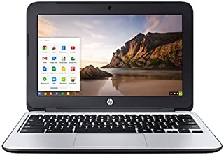 HP Chromebook 11 G3 Chrome OS(日本語版) Celeron 2.16-2.41GHz 4GB SSD(eMMC)16GB 光学ドライブ非搭載 無線LAN 802.11ac/a/b/g/n Bluetooth USB3...