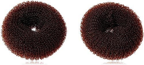 CareforYou® Haar-Dutt für Kinder, für Mädchen, Ballett, Donut-Form, Haarknoten, ringförmig, formender Schwamm, 2Stück, klein und mittelgroß