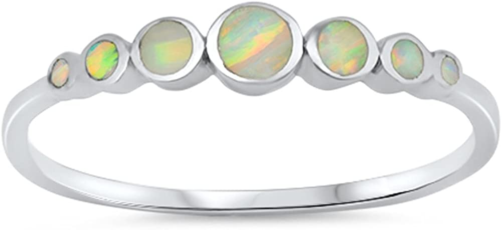CHOOSE trust All stores are sold YOUR COLOR Sterling Silver Round Ring