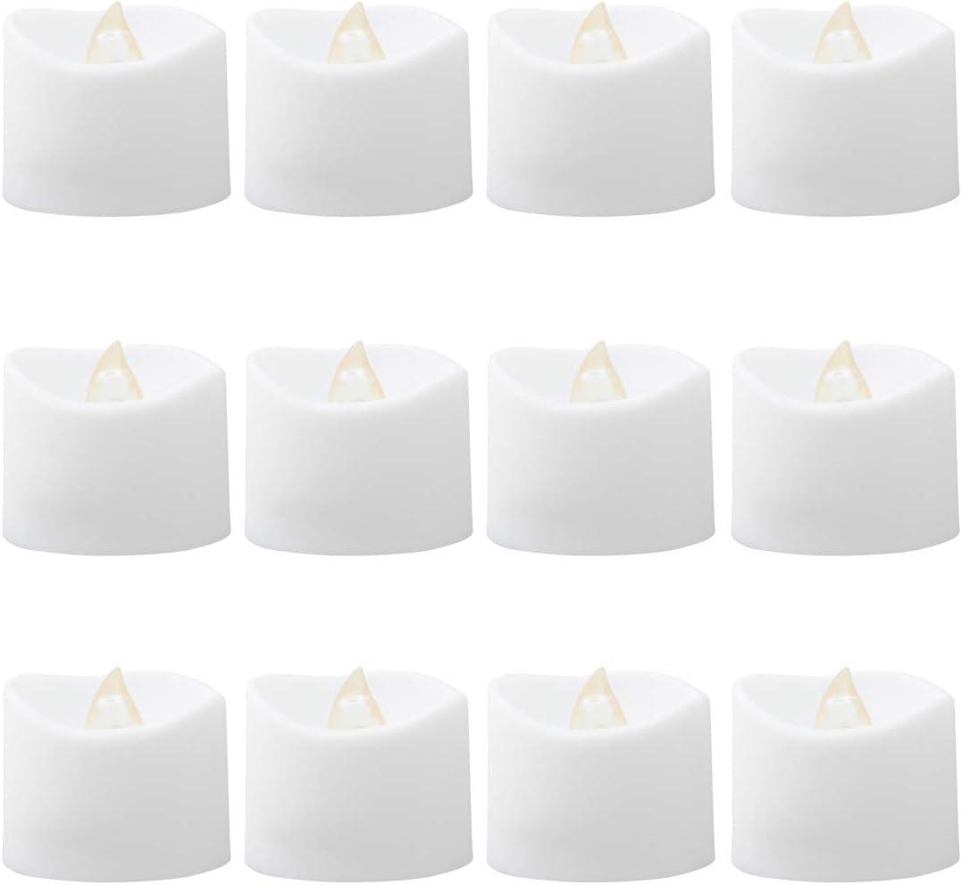 New product type shipfree Abaodam 12pcs Smokeless Candle Lamp LED Light Birthday We