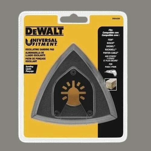 Purchase Pad Sanding Compatible With DEWALT Dwa4200 Oscillating