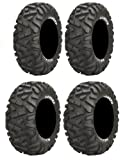Full set of Maxxis BigHorn Radial 26x9-14 and 26x11-14 ATV Tires (4)