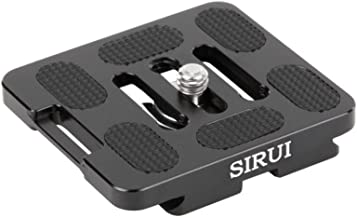Sirui TY-50X 56mm Universal QR Plate w D-Ring Screw Arca & RRS Compatible