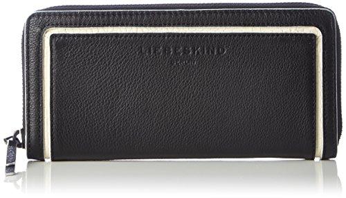 Liebeskind Berlin Damen SallyS7-ESMono Geldbörse, Nairobi Black, 20x10x3 cm