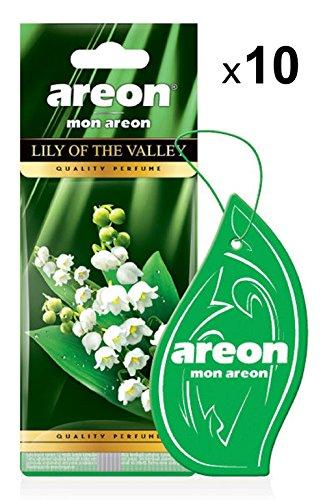 AREON Mon Ambientador Coche Lirio Los Valles Flor